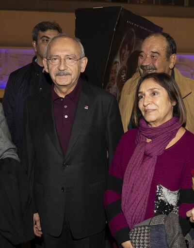 Kılıçdaroğlu ve eşi 'Müslüm' filmini izledi