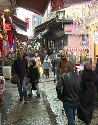 Tahtakale'de 'süslü' telaş