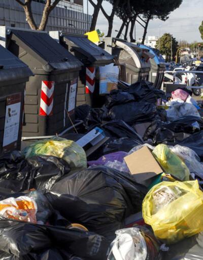 Roma çöplüğe döndü
