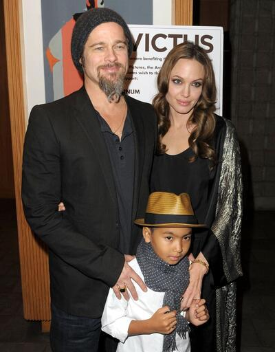 Çocukları Brad Pitt'i reddetti