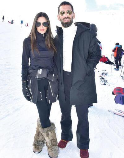 Aslıhan-Arda Turan 2019'u zirvede karşıladılar
