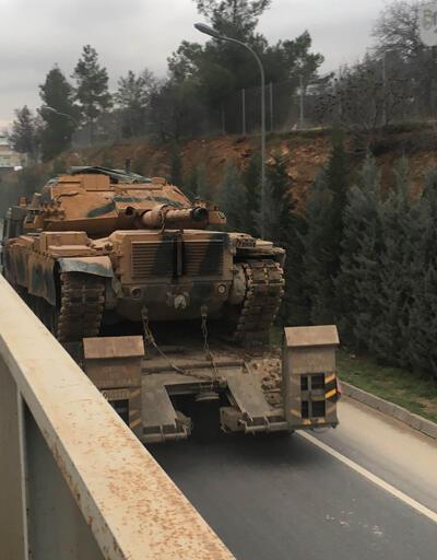 Suriye sınırına 20 araçlık takviye konvoyu