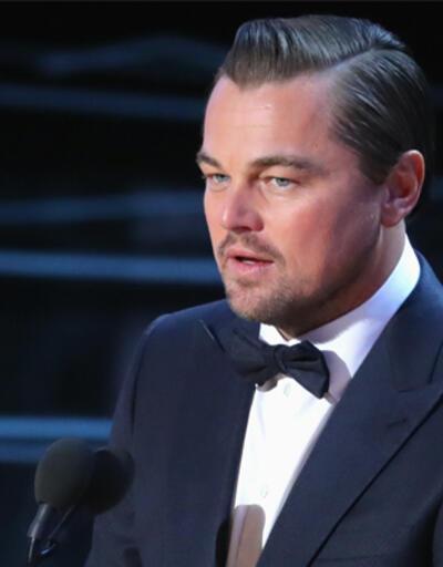 Leonardo DiCaprio ifade verdi