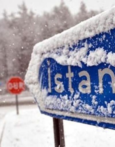 AKOM'dan İstanbul için kar açıklaması