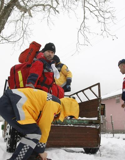 Ayağı kırılan dağcı 4.5 saat sonra kurtarıldı