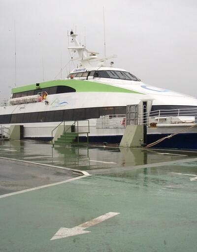 Deniz ulaşımında fırtına engeli