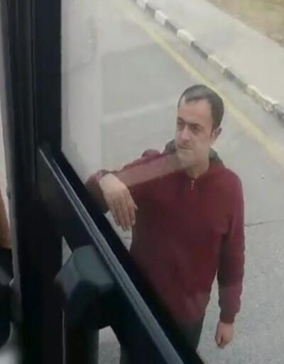 Trafik magandaları yolcu otobüsüne saldırdı
