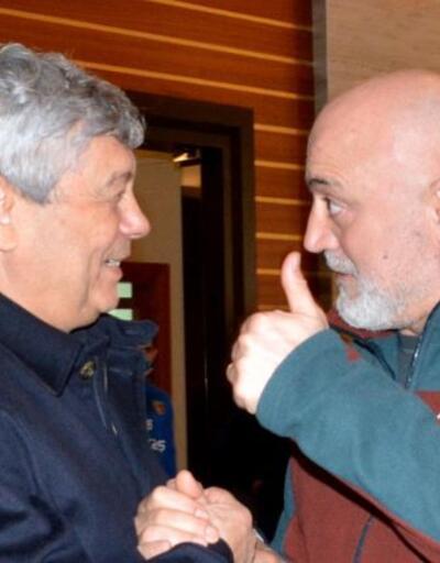 Lucescu Fenerbahçe ve Kayserispor'u ziyaret etti