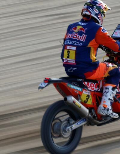 Dakar Rallisi'nde 7. etap Peterhansel ve Sunderland'in