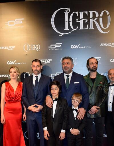 'Çiçero' filminin galası gerçekleşti