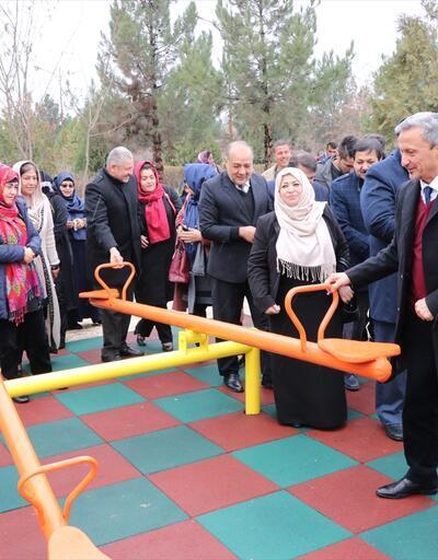TİKA'dan Afganistan'da oyun parkı açılışı