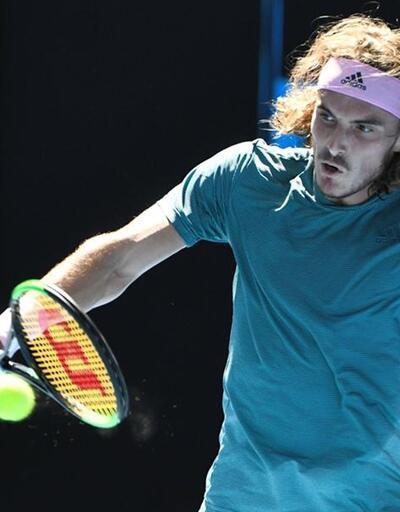 Federer'i eleyen Tsitsipas durdurulamıyor