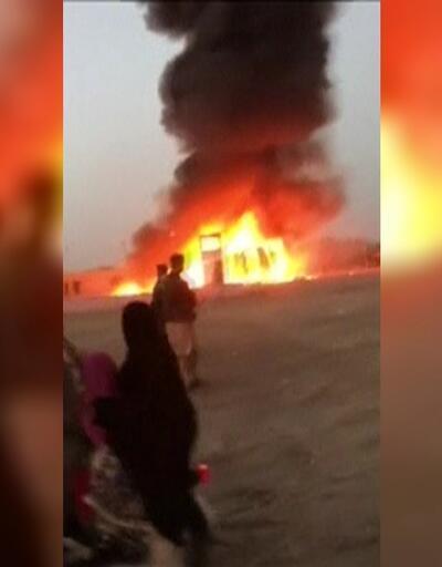 Pakistan'da feci kaza: Otobüs ve petrol tankeri çarpıştı