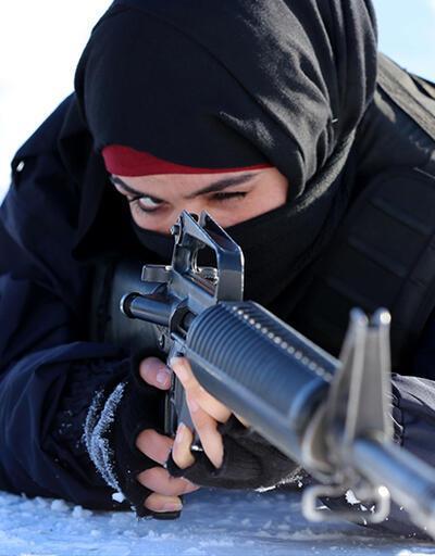 Afgan polislerin Türkiye'deki zorlu eğitimi
