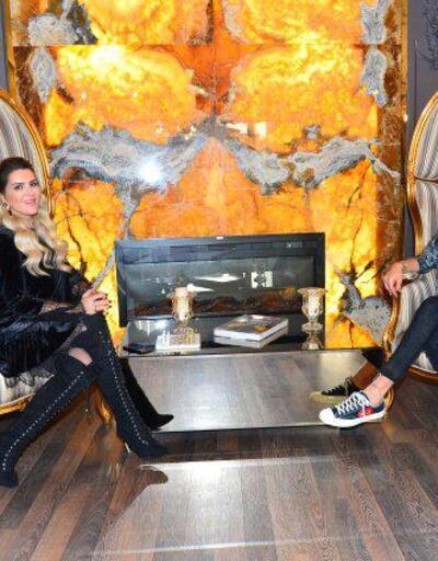 Kerimcan Durmaz, evine altın kaplama mobilya aldı