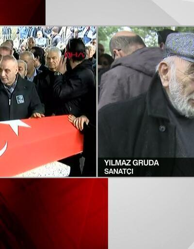 Yılmaz Gruda'dan Ayşen Gruda'nın cenazesinde sitem