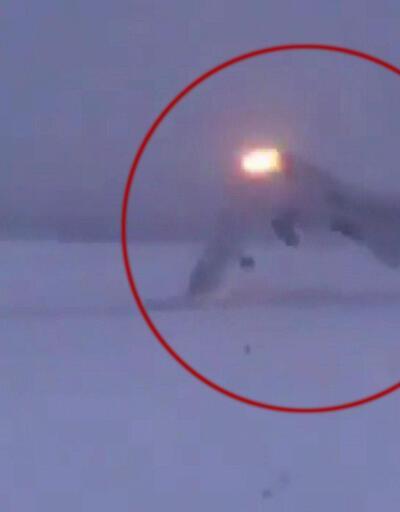Rus savaş uçağının düşme anı ortaya çıktı