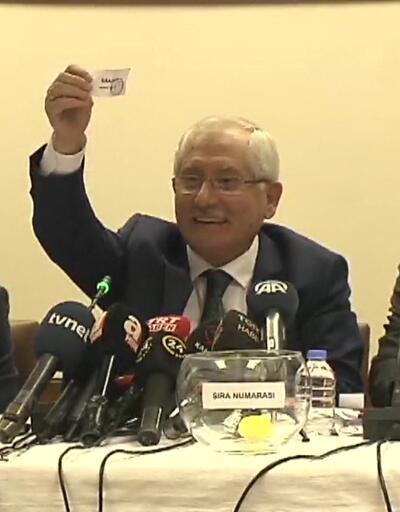 Son dakika: 31 Mart seçimleri için oy pusulası sıralaması belirlendi