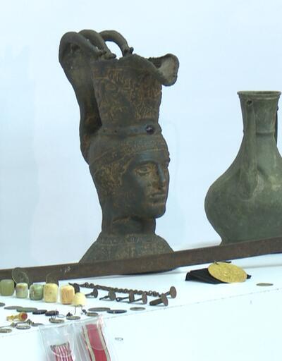 Tarihi eser kaçakçıları kıskıvrak yakalandı