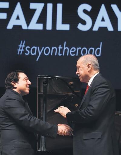 Erdoğan'ın, Fazıl'ın konserine gitmesinden memnuniyet duydum