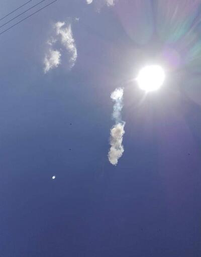 Uyarıdan birkaç dakika sonra gök taşı düştü