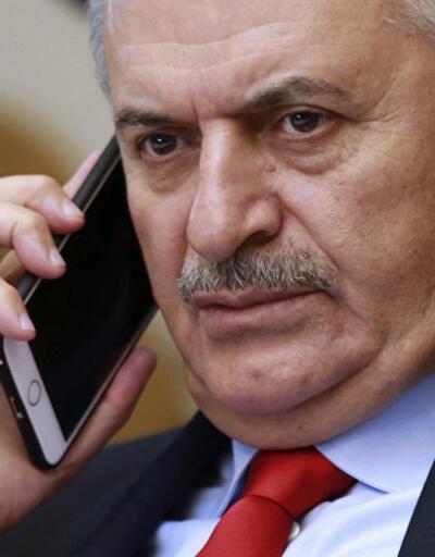 Binali Yıldırım'dan milli futbolcuya başsağlığı telefonu