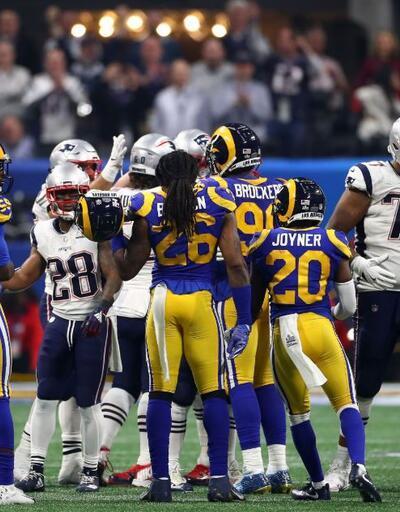 Super Bowl'da şampiyon New England Patriots