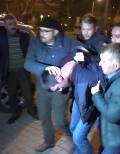 Kayseri'de polislere saldırı