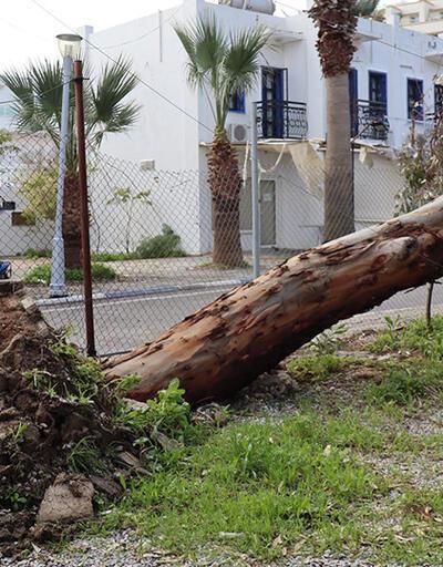 Fırtına Antalya ve Muğla'yı vurdu