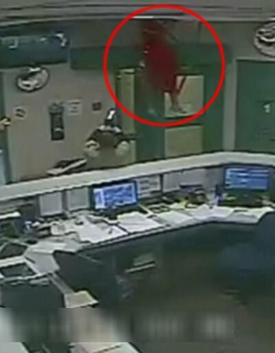 Hapishaneden kaçarken tavan çöktü