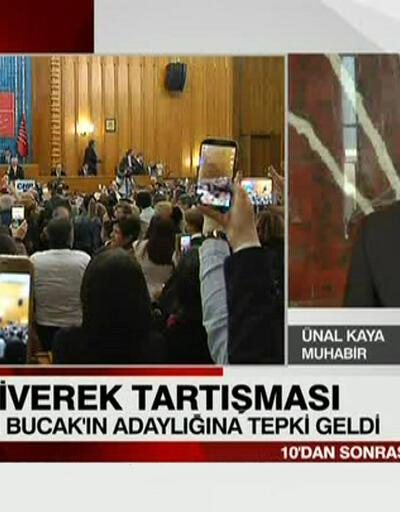 CHP'de Bucak'ın adaylığına tepki