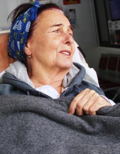 Fatma Girik tekrar hastanede