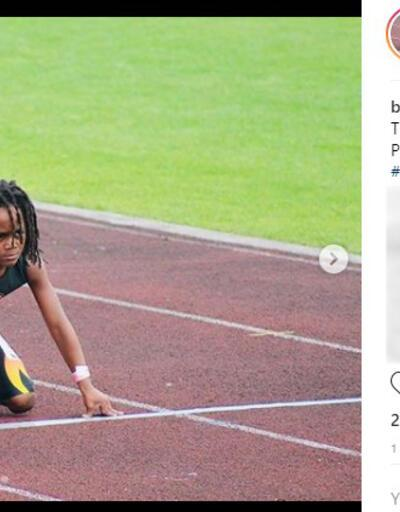 Dünya 7 yaşındaki Bolt'u konuşuyor!