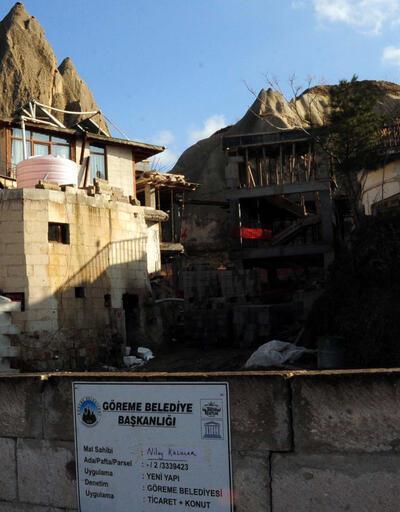 Kültür ve Turizm Bakanlığı'ndan 'peri bacaları' açıklaması