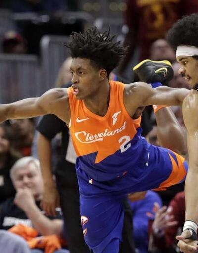 Nets üç uzatma sonunda kazandı