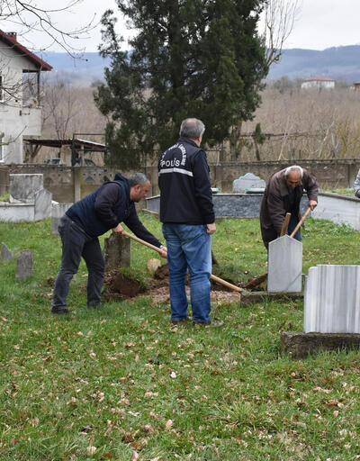40 yıl önce ölen bebeğin mezarı açıldı
