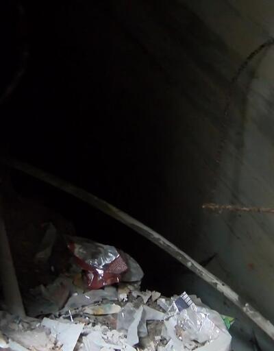 5 metrelik kuyuya düşen köpek kurtarıldı