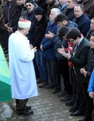 Ukrayna'da öldürülen TIR şoförü, Bolu'da toprağa verildi