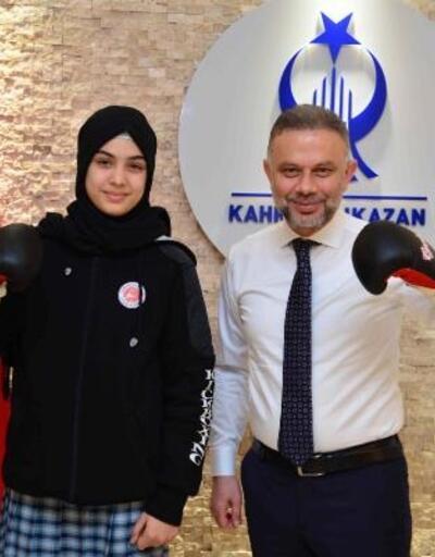 Ortaokul öğrencisi Songül, Türkiye ikincisi oldu