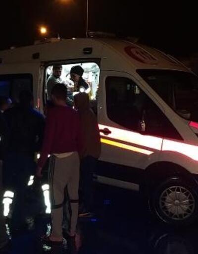 Samsun'da 9 aracın karıştığı kazada, 2'si çocuk 6 kişi yaralandı