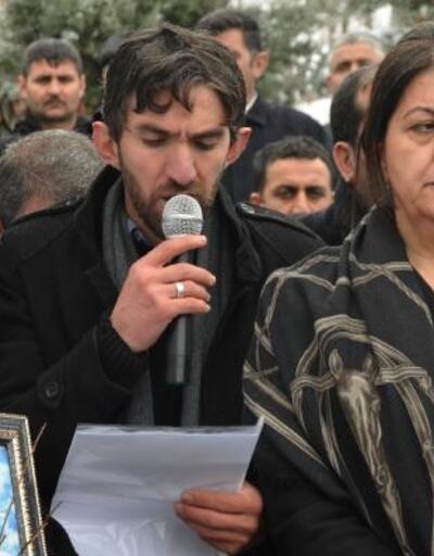 Uludere anma programında HDP'lilere tepki