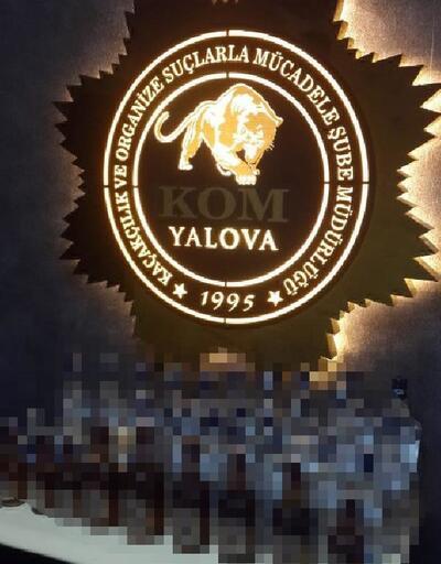 Yalova'da otelin ruhsatsız barına operasyon