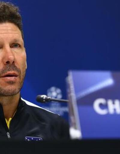 UEFA'dan Diego Simeone'ye ceza
