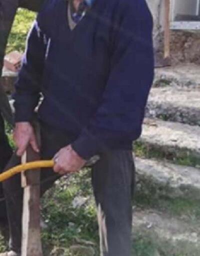 Yalnız yaşayan yaşlı adam, evinde çıkan yangında öldü