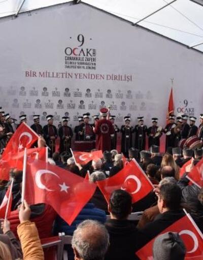 Gelibolu'nun tahliyesinin 103'üncü yılı için tören düzenlendi