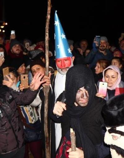 Yunanlı turistler, Kalandar'ı kutladı