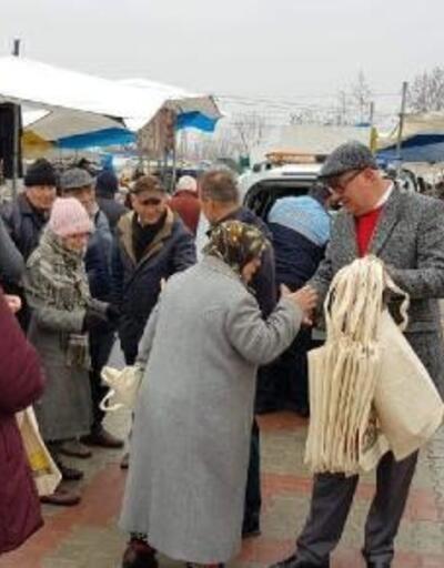 Havsa Belediyesi, 3 bin bez çanta dağıttı