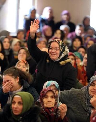 Taşkesti'de ev sahibi olmaya hak kazananlar sevinç yaşadı