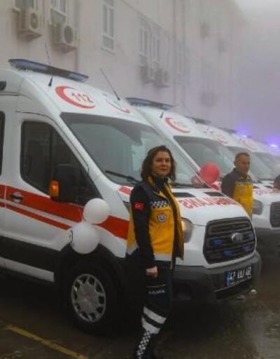 Mardin'de tam donanımlı 8 ambulans hizmette