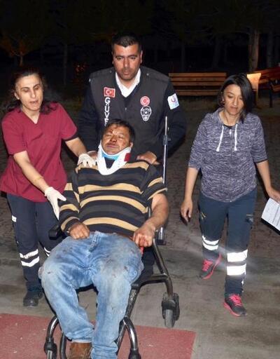 Kayseri'de otomobil bahçe duvarına çarptı: 4 yaralı